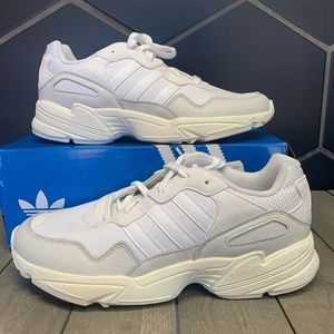 New Adidas Yung-96 Cloud White Running Sneakers